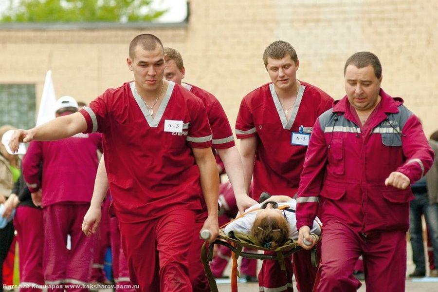 Соревнования бригад скорой помощи Перми